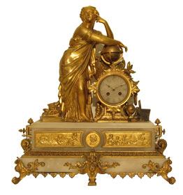 Französische Pendule antike Standuhr